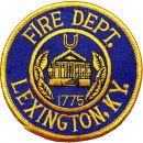 FIRE DEPARTMENT LEXINGTON