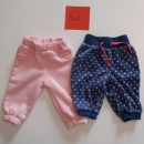2x debelejše hlače št: 62 cena: 5€