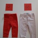 2x obaibi hlače-pajkice št: 62 in 68 cena: 7€