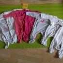 8x pižama s stopalkami št: 62-68 Cena vseh: 22€