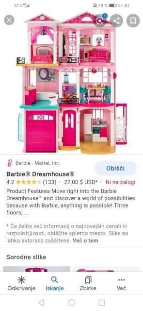 Barbie hiša  - foto