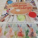 Risarska knjiga za slikanje in risanje