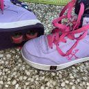 čevlji s kolesi, vijolični