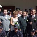 Poroka naših članov Tanje in Marka - 2004
