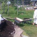 Janja je spet zadolžena za kompost