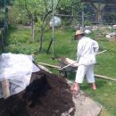 zdnji kompost za gredo :)