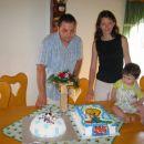 Z atijem in mamico