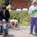 z babi Marinko in Romano
