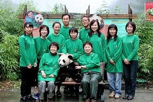 Kako lepo je ko ljudje humanitarno pomagajo da rod pand ne izumre.