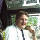 Ja naš šofer avtobusa Branko.Prijazen fant a ne?