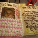 Živina torta za krst.