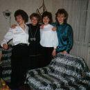 Nives, Zvezdana, Barbara in njena sestra Marjetka.