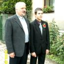 David s kaplanom Jožetom Poljanškom.