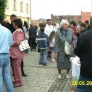 Na trgu Sv. Magdalene.
