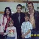 Družina Ribič z Davidom.