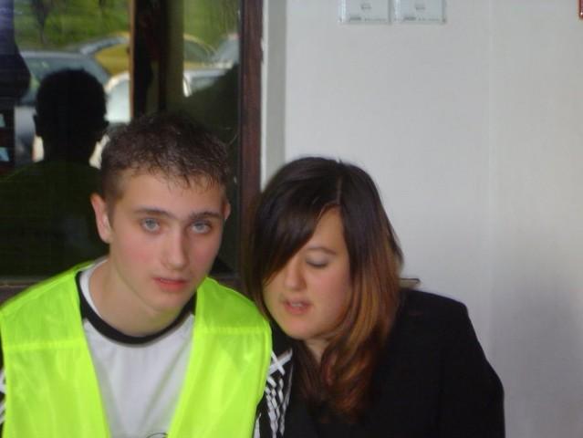 Redar DennyDJ ter njegova punca Monika