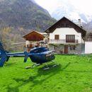 Privat helikopter. V usnju. Halooo!!!