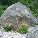 Kalcit - Kurja dolina, desni balvan