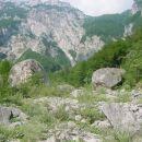 Kalcit - Kurja dolina, balvani