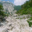 Kalcit - Kurja dolina, pogled od spodaj