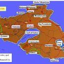 Lesvos - zemljevid