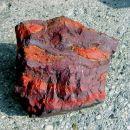 Jaspis, hematit - Idrijsko (20 x 20 cm)