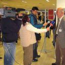 Otvoritev in intervju za RTV - g. Miran Trontelj