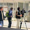Snemanje vitrin z minerali in fosili - RTV SLO in POP TV