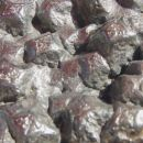 Kamnolom Peči - pseudomorfoza limonita po piritu - 11 x 10 cm - 25.08.2007 - detail