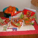 božičkovo domovanje na kuhinjski mizi