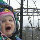 Ha, Ha  pa smo dočakali tudi v Brkinih sneg!