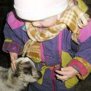Kaja in mladič mini kozice