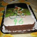 torta nutella s sliko na hostiji