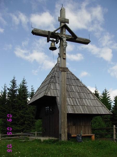 Kapelica na planini Zgornji Špeh