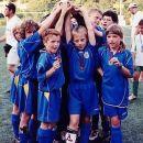zmagovalna ekipa fantov NK Domžale kategorije U-10