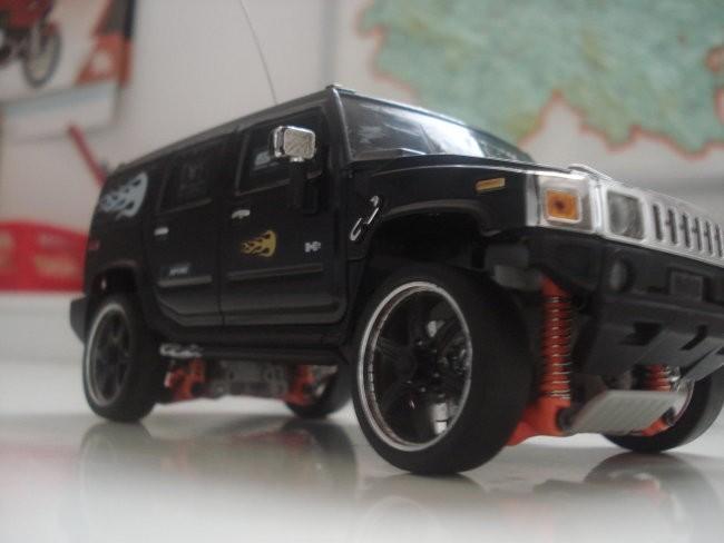 Hummer - foto povečava