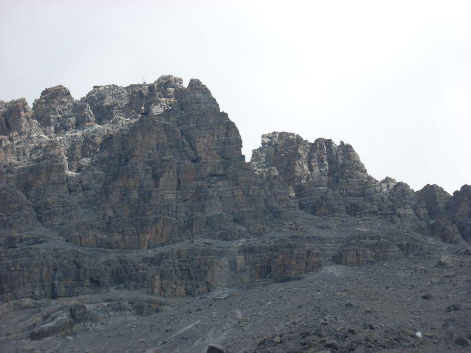vzpon na Pic de Rochebrune - 3320 m