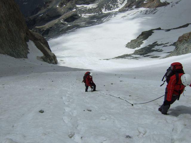 Vzpon na Mont Pelvux - 3943 m