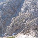 pogled na pot pod Brano (proti Turski gori) in
