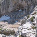 pogled na pot od zgoraj(