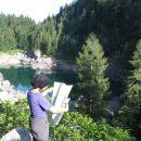 Črno jezero (na poti proti Komarči)