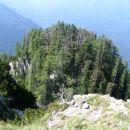 pogled v globino (z vrha)