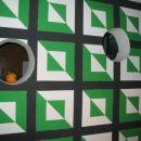 trikotno-kvadratno-okrogla stena