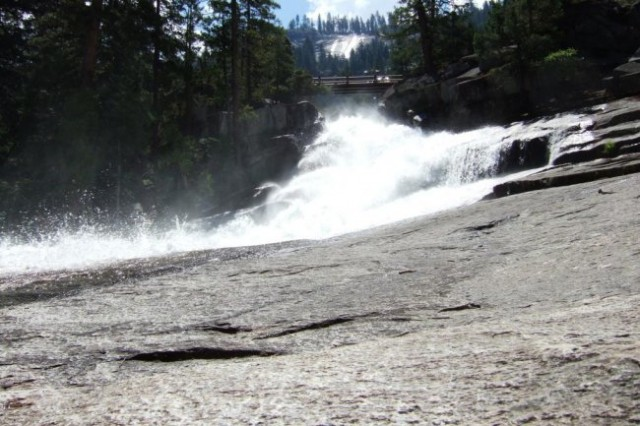 Above the Vernal Fall