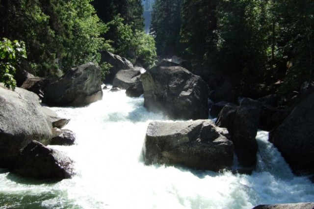 To the Vernal Fall