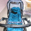 voziček z zimsko vrečo