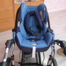 voziček z lupinico maxi cosi