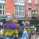 Živopisano cvetje na dublinskih ulicah