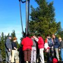 Najvišja točka na Pohorju Črni vrh 1543 m nadmorske višine