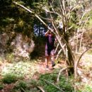 no na poti na Kršičevec sva se ustavila pri Mrzli jami